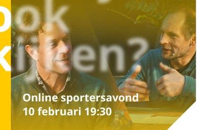 Vanavond, vanaf 19:30 uur is het zover! Dé sportersavond van Sport & Business online!