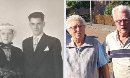 Harm en Trijntje Lier donderdag 60 jaar getrouwd