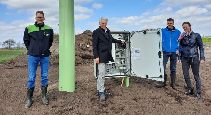 Start kleinschalige windmolen in Rouveen