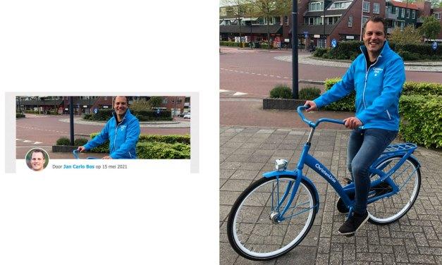 ChristenUnie Staphorst op eigen fietse