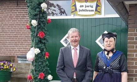 Lucas en Margien de Witte 40 jaar getrouwd