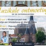 Martin Mans concerteert twee keer in de Bovenkerk!