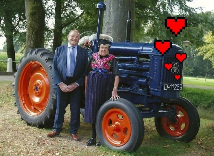 Jan en Jantje Hooikammer – Smit 55 jaar getrouwd