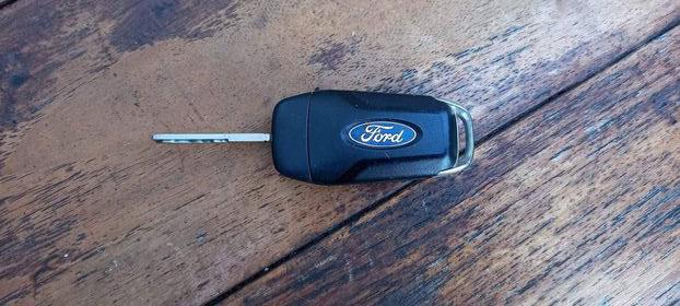 Ford sleutel gevonden