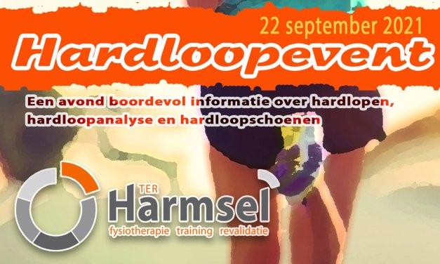 Hardloopevent bij Ter Harmsel fysiotherapie