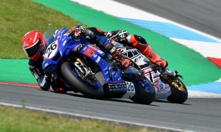 Nieman klaar voor de strijd tijdens 8ste ronde van het Dutch Superbike