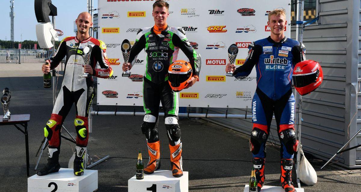 Tweede plaats voor Danny van der Sluis in achtste race van het seizoen