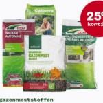 Alle gazonmeststoffen 25% korting bij Welkoop!