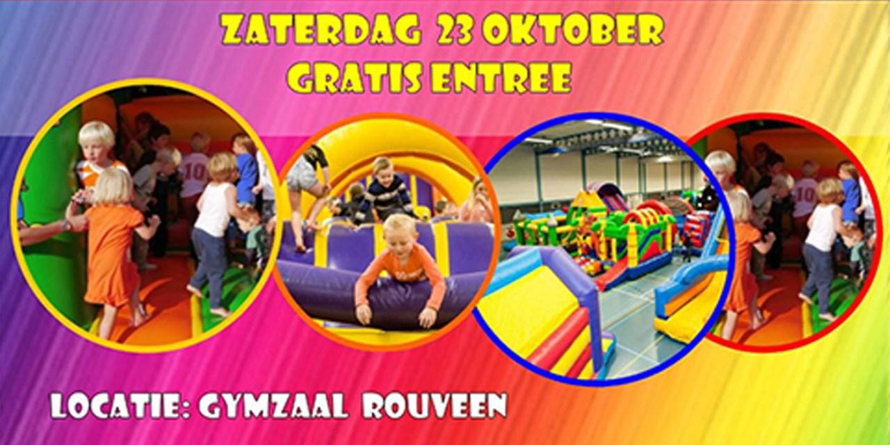 23 oktober: sprinkussenfestijn in Rouveen