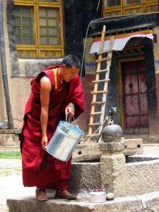 Ganden Monastery Monks