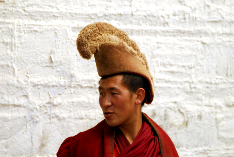 Yellow hat Monk
