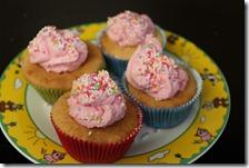 Lianno bakt Cupcackes