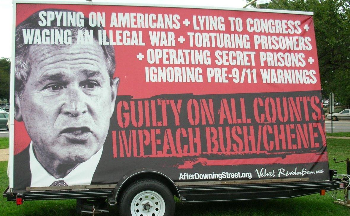 Image result for impeach bush