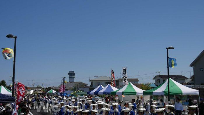 大洗高校マーチングバンド部「Blue-Hawks(ブルーホークス)」in第1回キラキラ☆きらめきin大洗