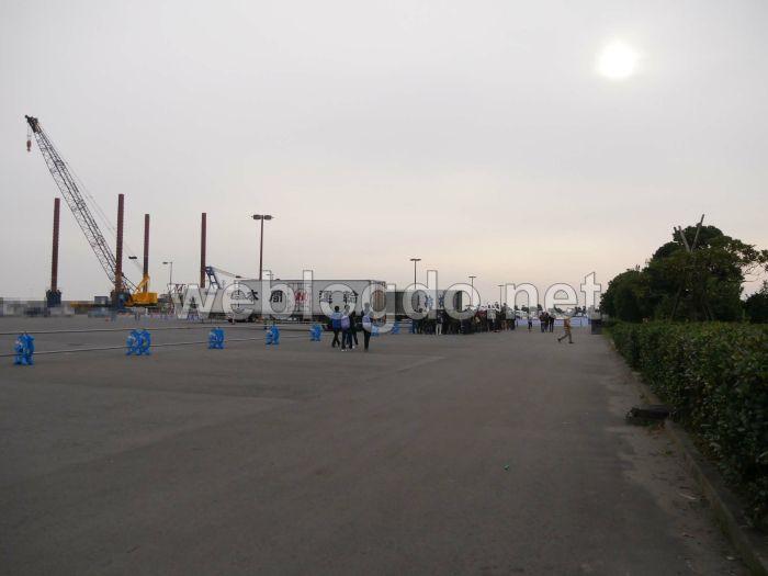 大洗港第4埠頭ガルパンテント村ミニミニホビーショー