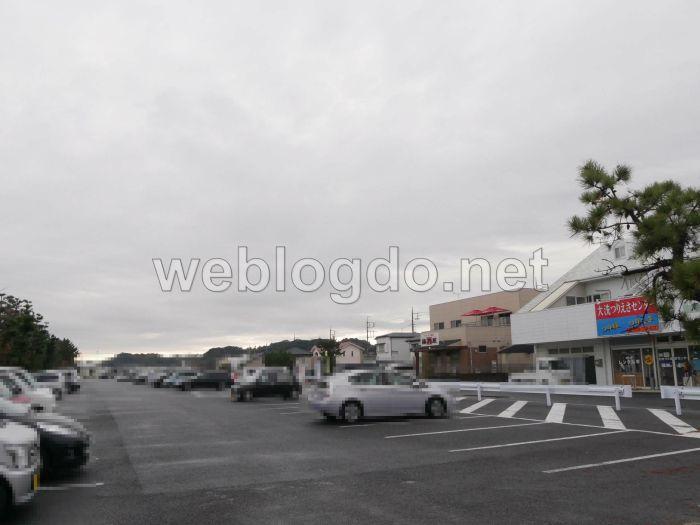 ORACLE大洗駐車場