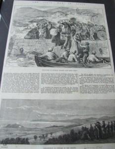 Paper from Carlist War Getaria