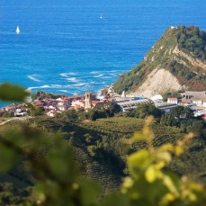 The view of Getaria