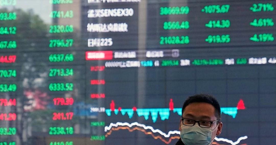 Τρενάκι του τρόμου οι αγορές