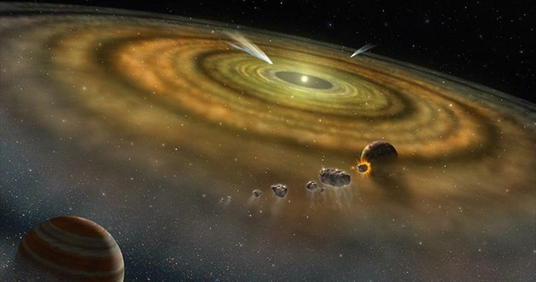Το ηλιακό σύστημα σχηματίστηκε μέσα σε «μόλις» 200.000 χρόνια