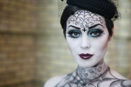 make-up-halloween-stile-gotico
