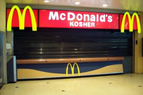 Aos sábados, é claro que o Mc Donald's judaico de Buenos Aires estaria fechado...