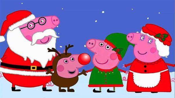 Новогодние картинки со свинкой бесплатные заставки на