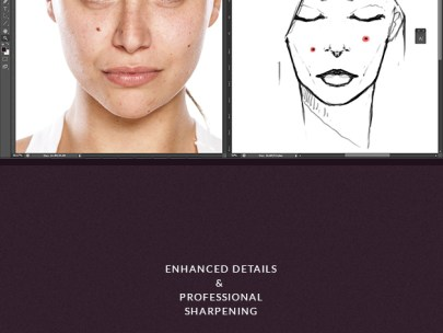 Get Flawless Skin with these  Revolutionary Natural Skin PS Actions