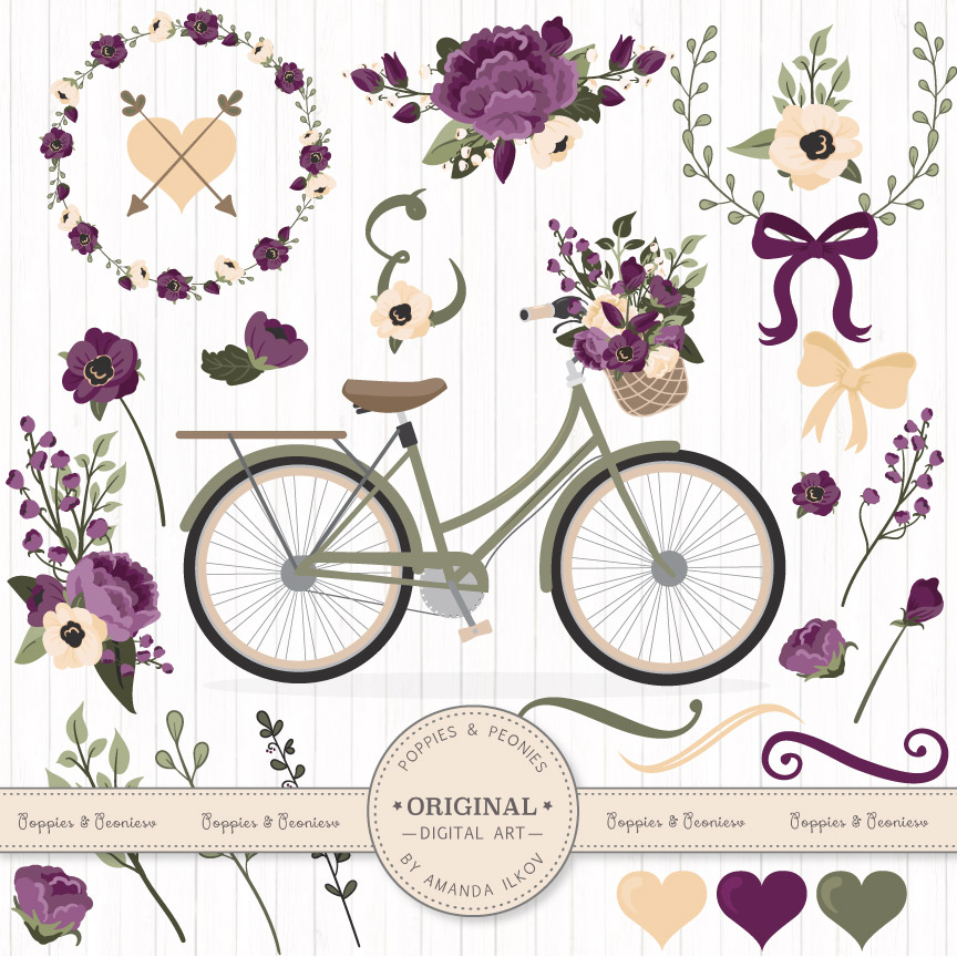 Bicycle Print And Color
