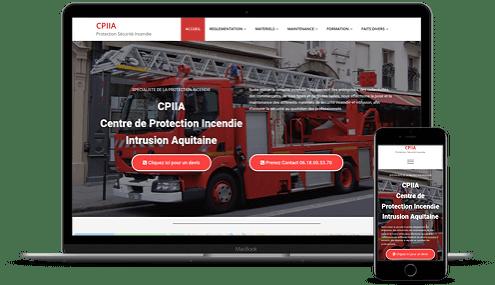 création de site vitrine freelance Gironde avec CMS wordpress et référencement web