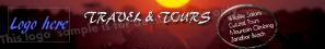 Travel Website Banner Example