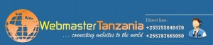 Webmaster Contact Banner and Logo