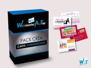 Commandez votre création de carte commerciale en ligne