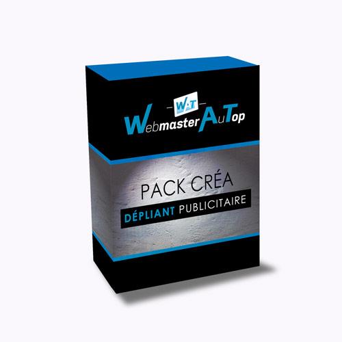 Pack Création Dépliant Publicitaire