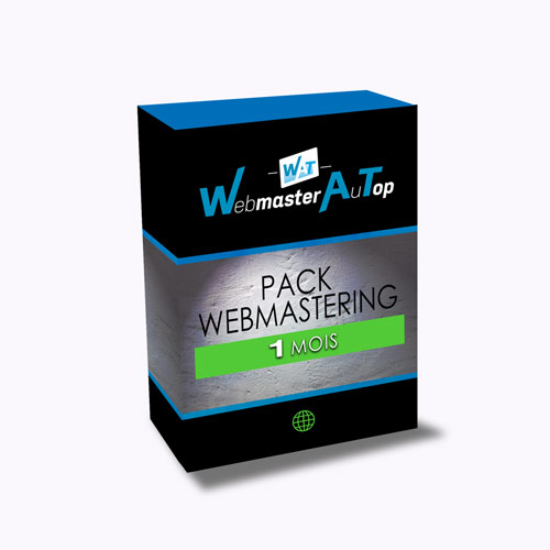 Pack Webmastering 1 Mois