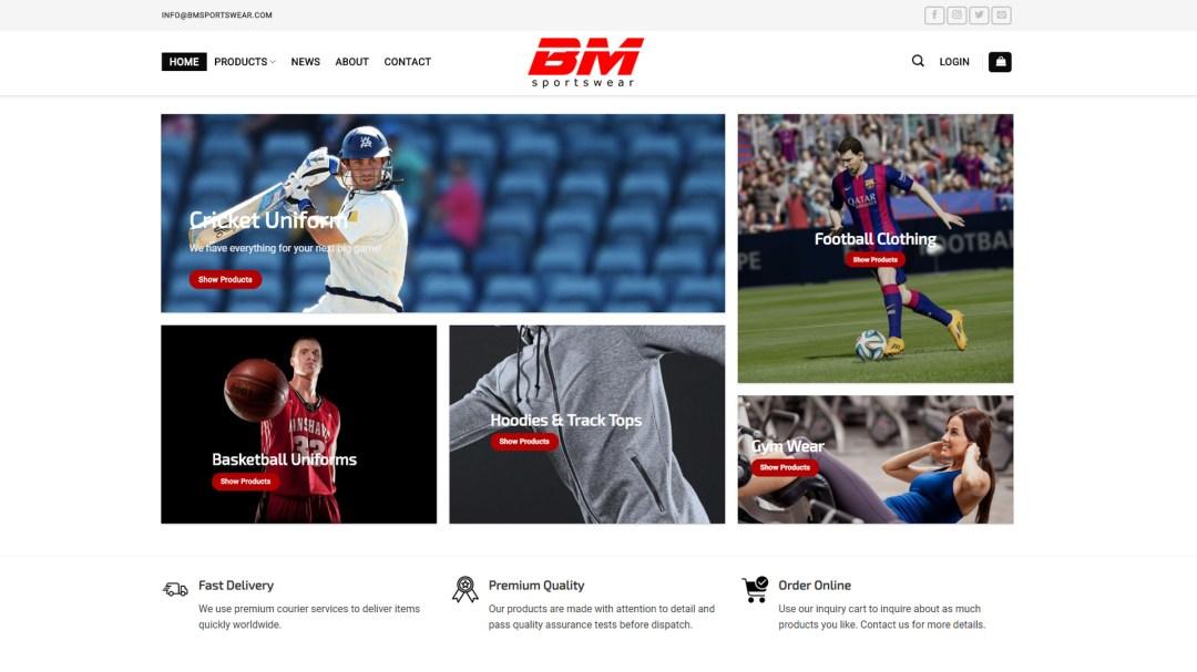 BM Sports Wear