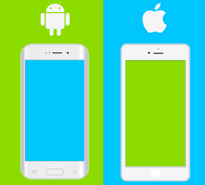 iphone ve android