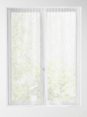 voilage rideau panneau en lin rideau