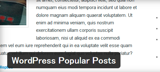 WordPressPopularPosts