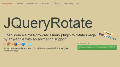 jQueryRotate
