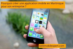 application mobile en Martinique