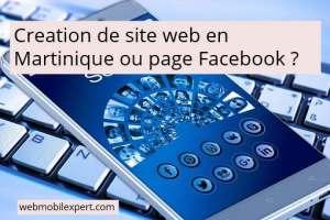 Création de site web en Martinique