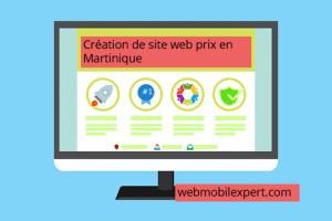 création site web prix en Martinique