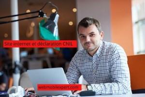 déclaration CNIL site internet