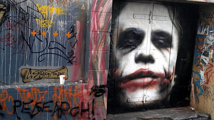 Melbourne Street Art Shinning A Light During A Period Of