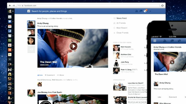 New Facebook News Feed Sign Up Page - Webmuch