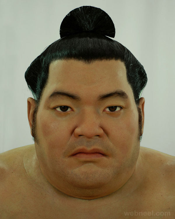 25 Hyper Realistic Silicone Portrait Sculptures By Jamie