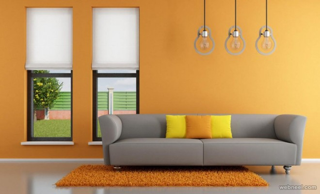 Modern Living Room Painting Ideas Attractive For Part 36