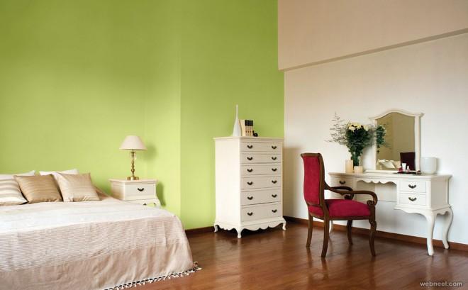 Light Green Bedroom Wall Paint Ideas