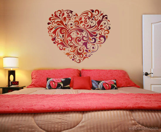 Wall Painting For Bedroom. 30 Beautiful Wall Art Ideas And Diy Paintings  For Your